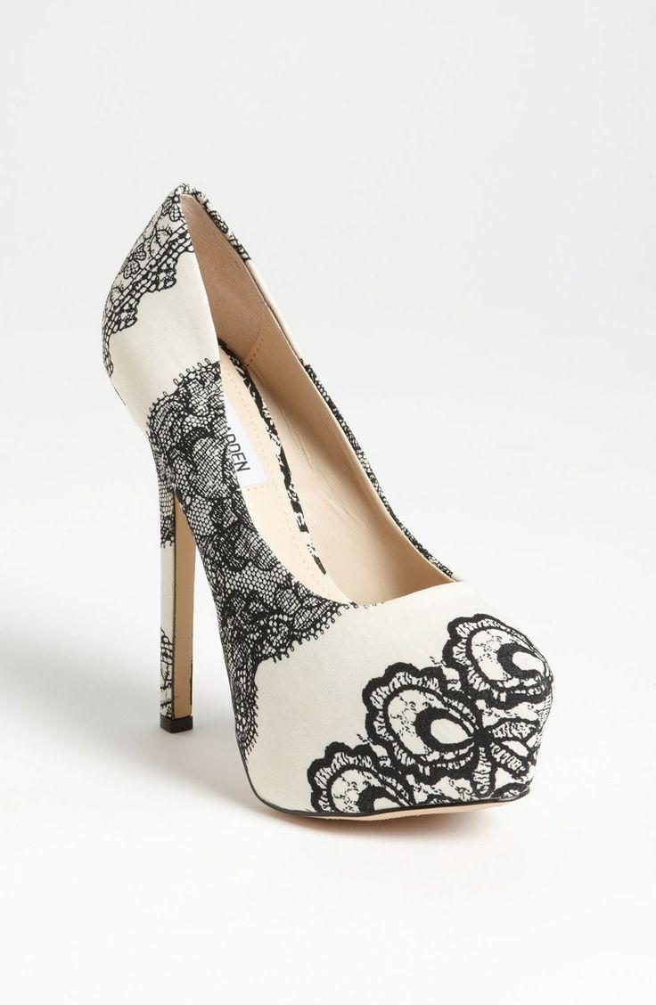 Deja Vu bye Steve Madden #Wedding #Shoes #ForTheBride #Epic #Beauty #