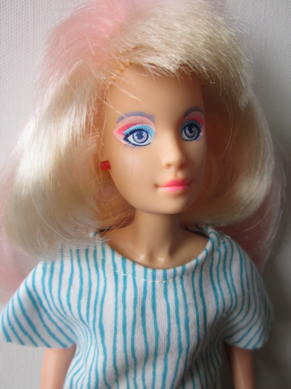 I lost my Jem doll in a Wickes furniture warehouse when looking for my little sister's future bunk bed, and I have never stopped pining for it. It was the coolest doll ever.