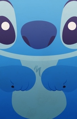 Stitch iPhone background