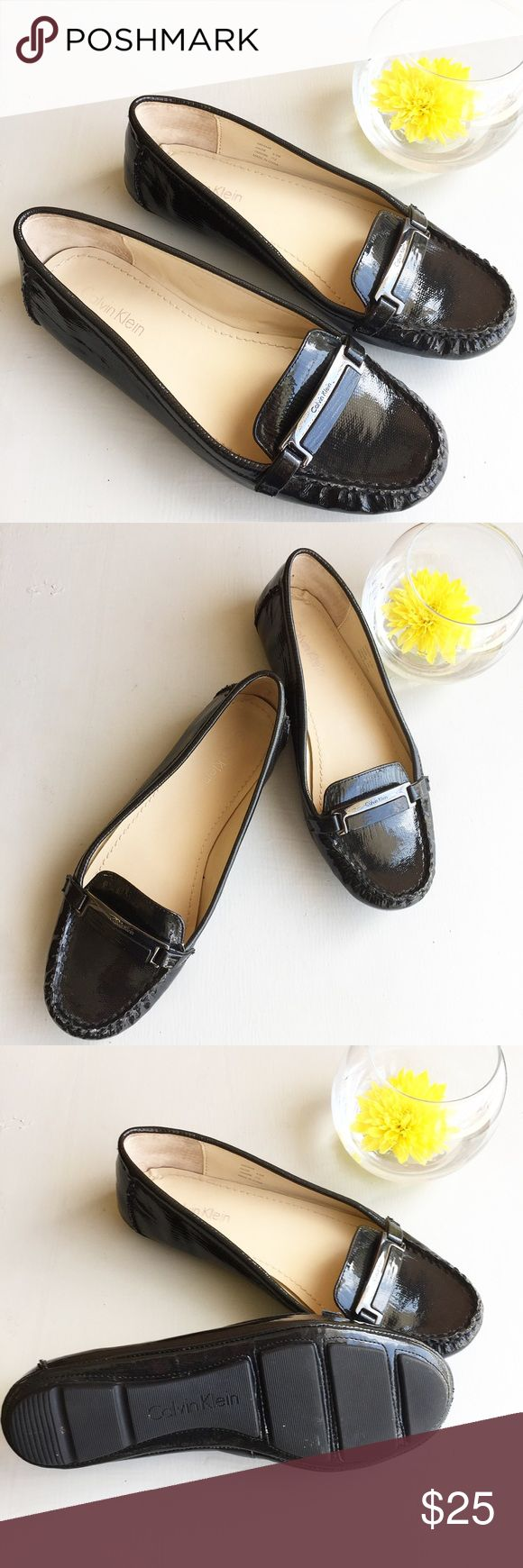 Calvin Klein black loafers Calvin Klein black loafers. In mint condition, like new. Come from a pet and smoke free home. Calvin Klein Shoes Flats & Loafers