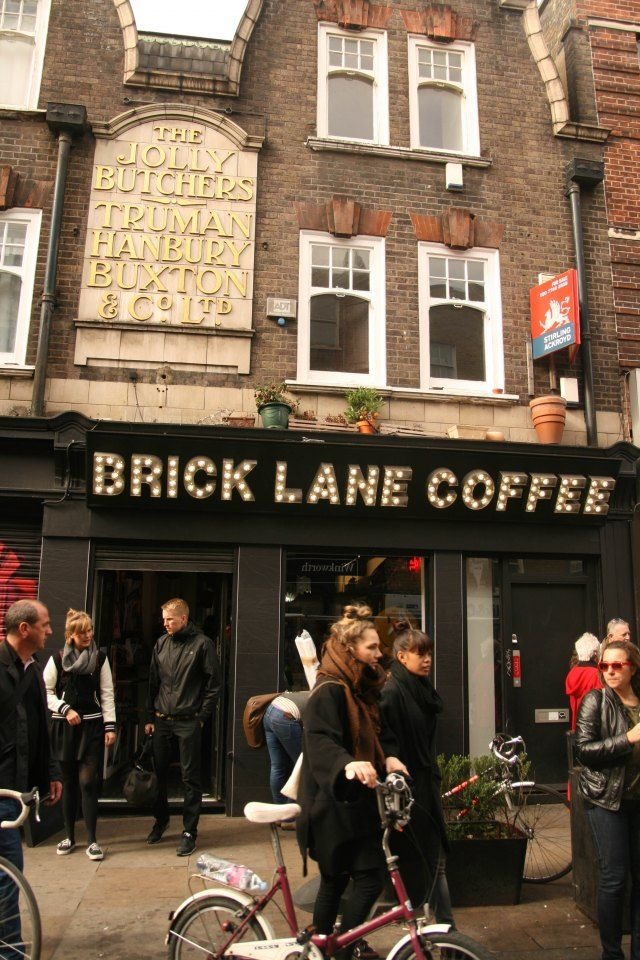 Brick Lane Coffee, Shoreditch