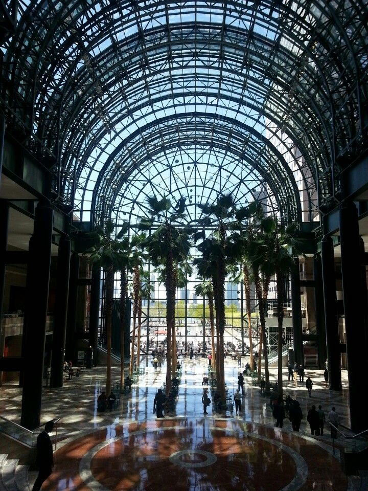Brookfield Place Winter Garden In New York Ny