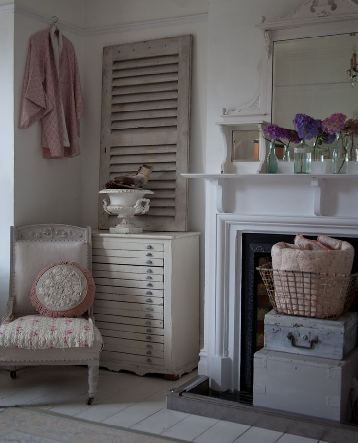 Meet The Blogger - Tamsyn Morgans, pretty painted shabby chic home, pastel colours, vintage and antiques, pretty chairs