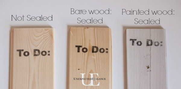 How to Seal Ink after using the Wax Paper Transfer Method