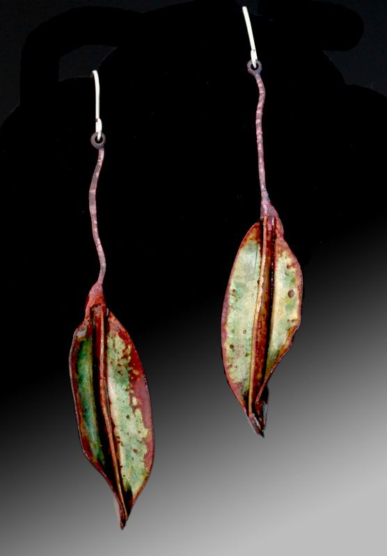 Leaves & Pods - Evelyn Markasky  Just beautiful to see others enjoy working with leave shapes as much as I do