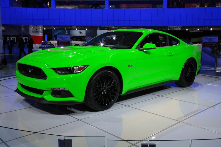 2015 ford mustang green. 2015 GT Mustangs are the best!!