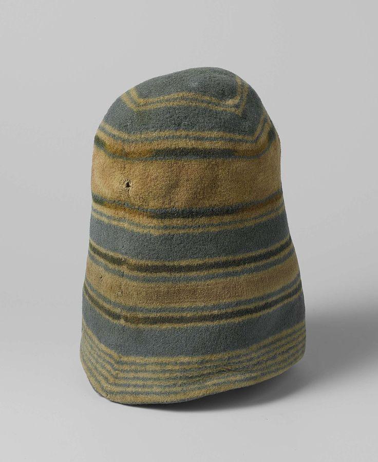 Topstuk van het Rijksmuseum: Wollen mutsen van Nederlandse walvisvaarders, anoniem, ca. 1700 - ca. 1800
