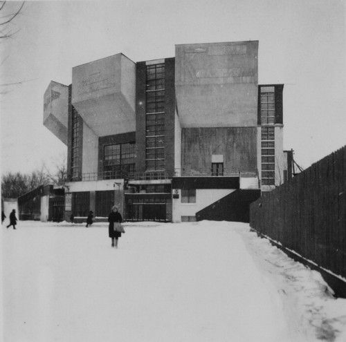 The Rusakov Workers' Club in Moscow, Melnikov