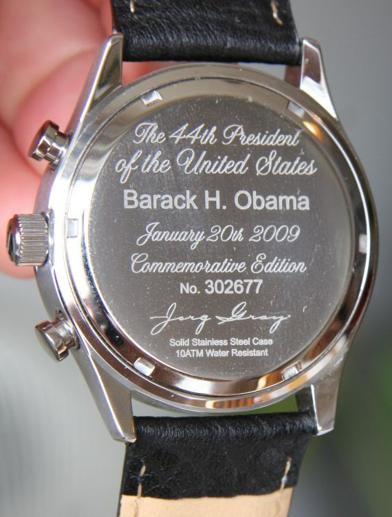 Jorg Gray JG 6500: The President Barack Obama Watch Review
