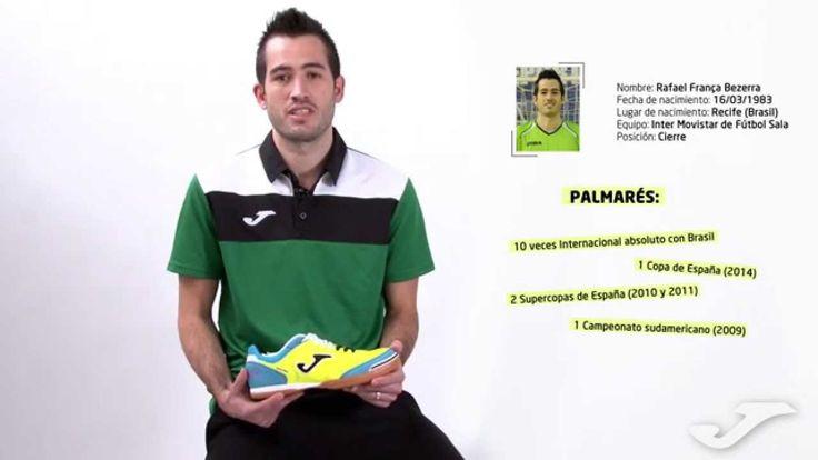 Joma Top Flex por Rafael del Inter Movistar de Fútbol Sala.
