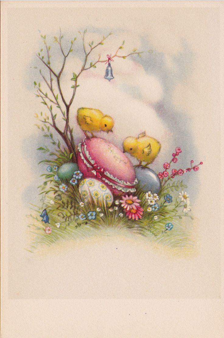 Påskkycklingar och påskägg