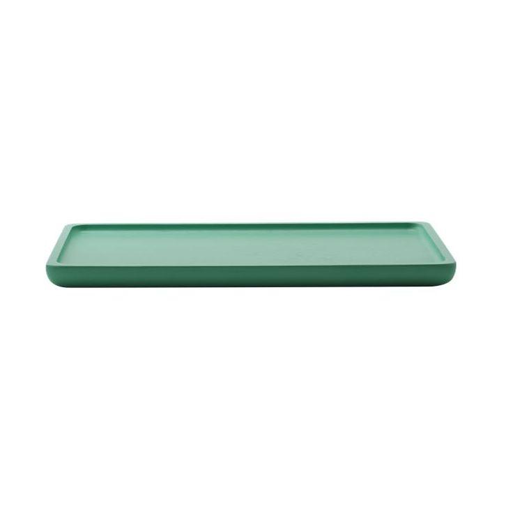 Ocean bakke serien findes i smukke grønlige toner, som når de ikke bruges, kan være et dekorativt element i køkkenenet.