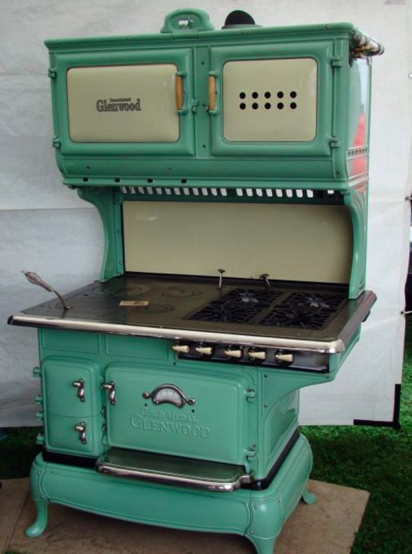Reproduction Vintage Electric Stoves ~ Ideas about antique kitchen stoves on pinterest