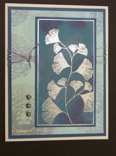 F4A82 QFTD78 Mostly Blue by hobbydujour - Cards and Paper Crafts at Splitcoaststampers