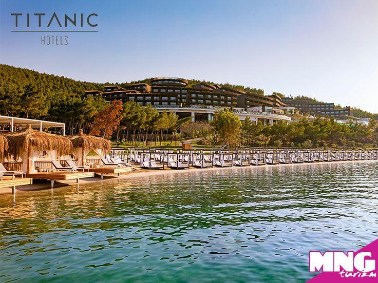Tatilde konfor, lüks ve modernizm arıyorsan Titanic Otelleri tam sana göre. bit.ly/MNGTurizm-titanic-otelleri-s