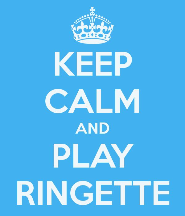 Keep Calm and Play Ringette for Maya Taylor