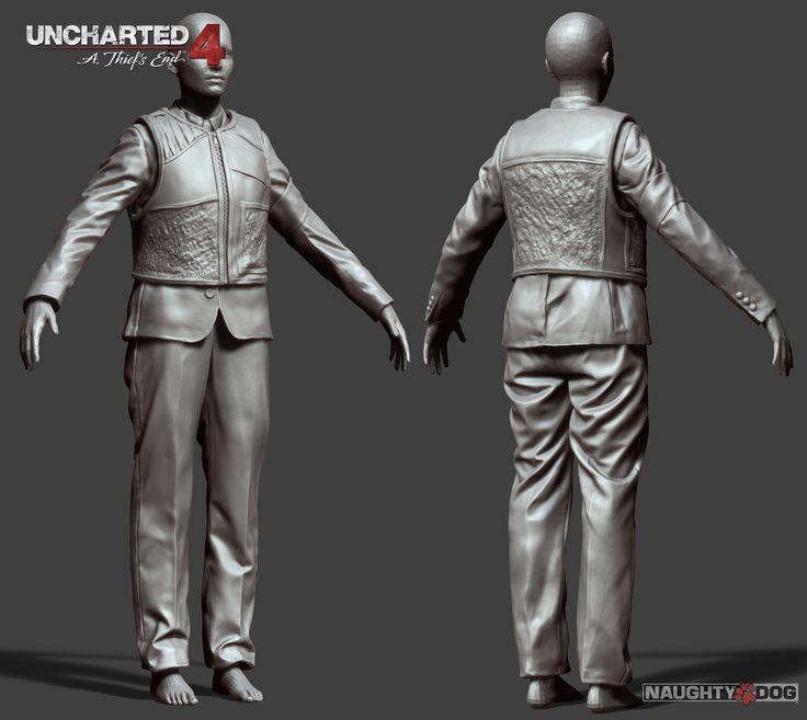 ArtStation - Uncharted 4 Multiplayer, Corey Johnson