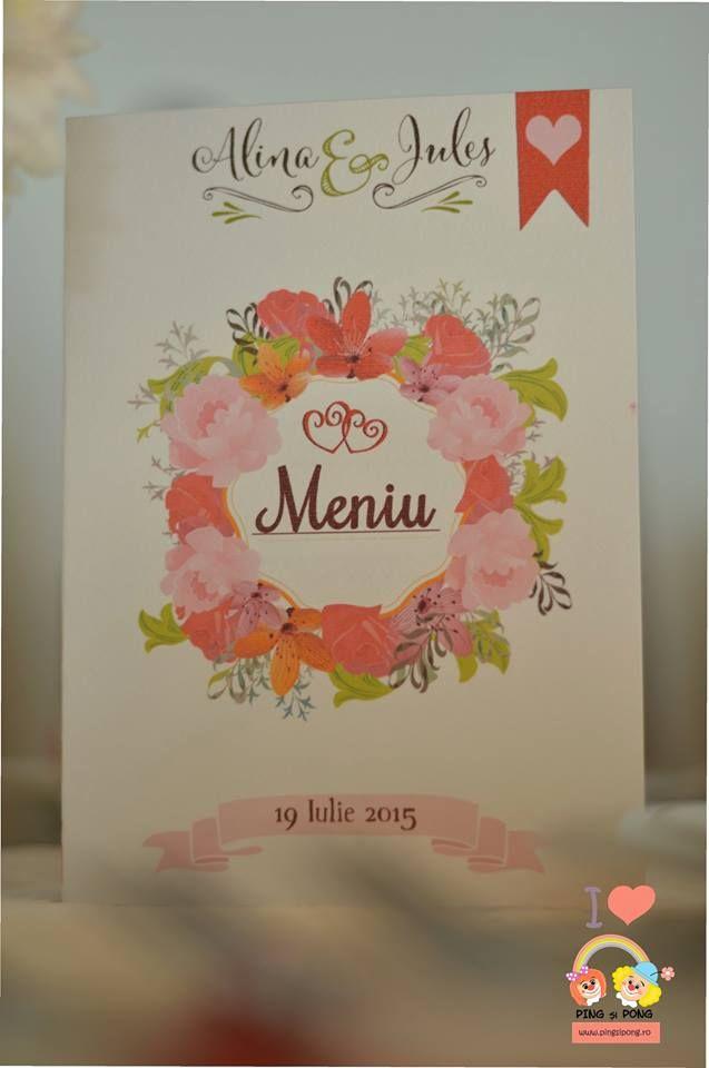 meniu-nunta-floral-unicat