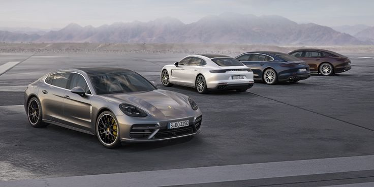 With the addition of the new 330 hp versions and the Executive models, the Porsche Panamera range now comprises ten different models with power outputs from 330 to 550 hp. #evlear #cars #porsche #panamera #growing #range