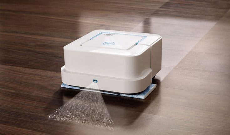 Watch This Floor Mopping Robot Get the Work Done Easily