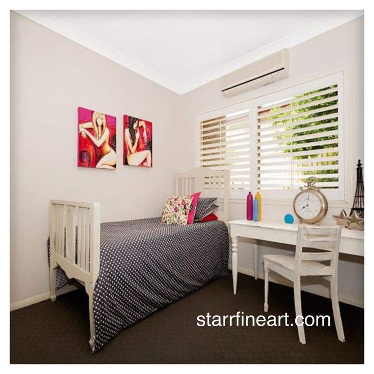 Art by STARR www.starrfineart.com ....all styled up in a lovely home .