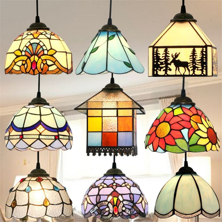 157 Best Lampes Vitrail Images On Pinterest