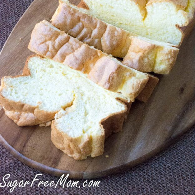 Low Carb Cloud Bread Loaf | 12 Awesome Low Carb Bread Recipes That Will Make You Excited To Try Low Carb