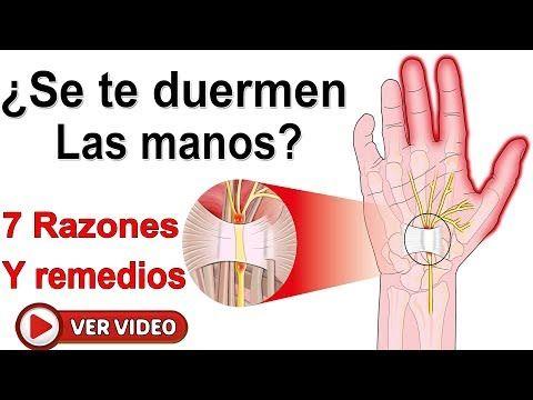 ¿Por Qué Se Te Duermen Las Manos 7 Razones Por Las Cuales Preocuparte De Este Padecimiento? - YouTube