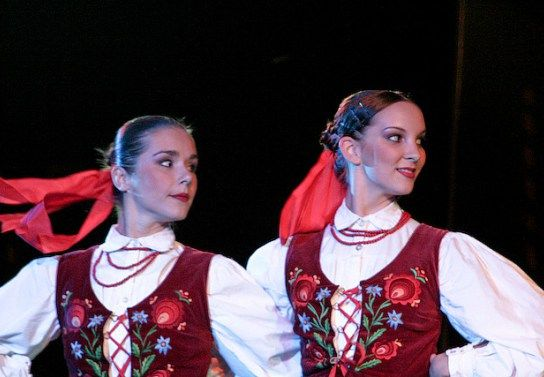 Slovakian dancers in traditional dresses - Image by Lubomir Panak