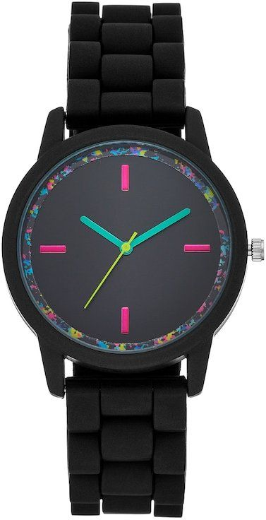 Women's Abstract Rubber Watch