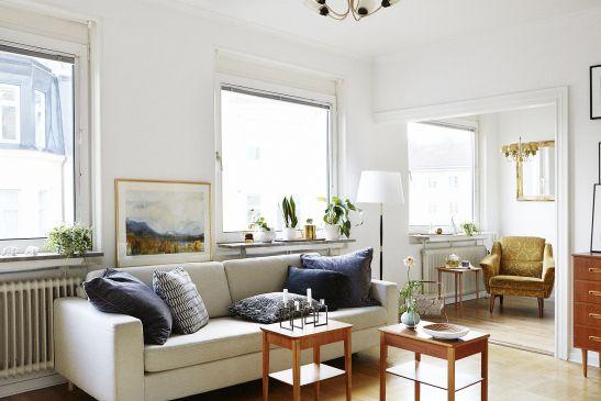 Vardagsrum soffa soffbord