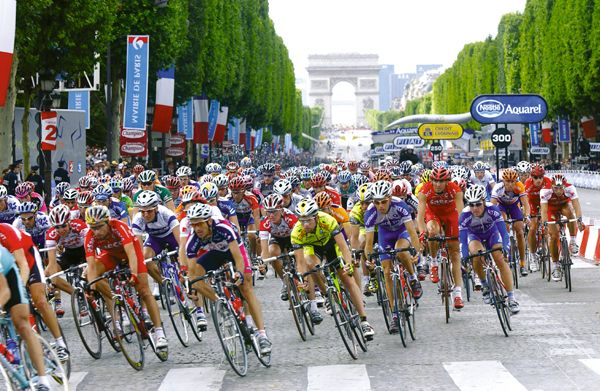 J'adore regarder Le Tour de France