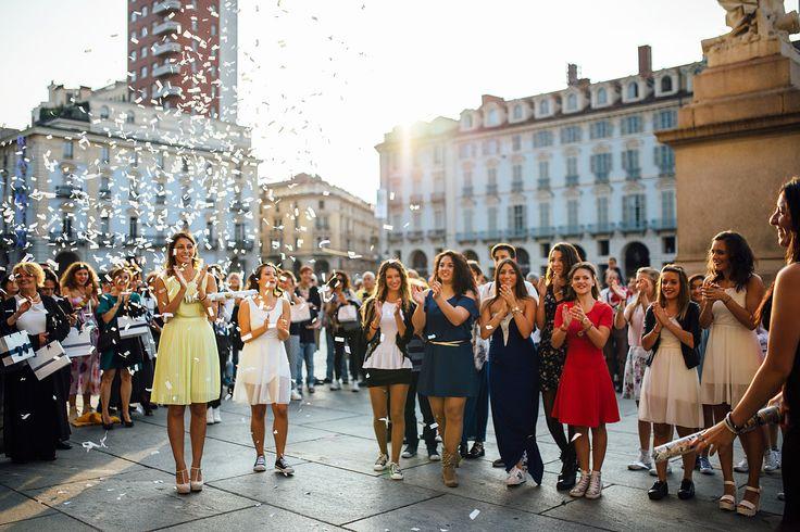 Un matrimonio insolito a Palazzo Madama, Torino, tra una sposa ballerina e uno sposo frizzante!