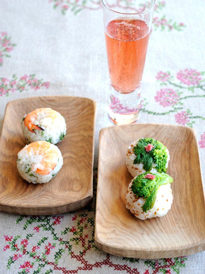 【ELLE a table】えびと菜の花の手まり寿司レシピ|エル・オンライン