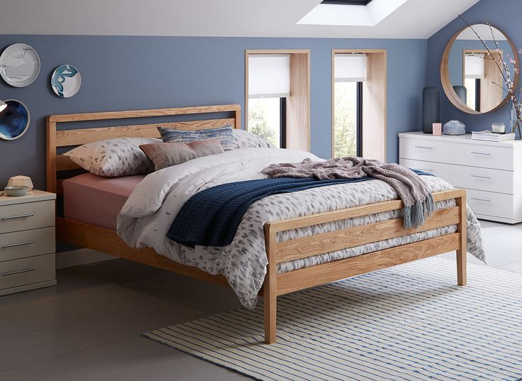 Sleek and stylish, the Woodstock bed frame is simple and well-crafted to make the ideal addition to your bedroom.