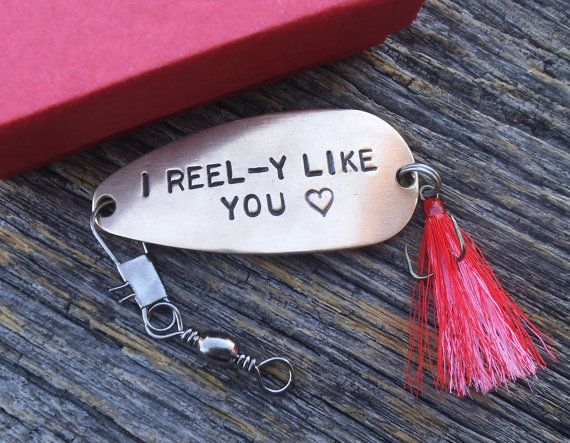 I Reel-y Like You Fishing Lure Keepsake Gift by CandTCustomLures
