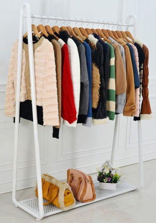 Las 25 mejores ideas sobre colgadores de ropa en pinterest - Colgador de ropa de pie ...
