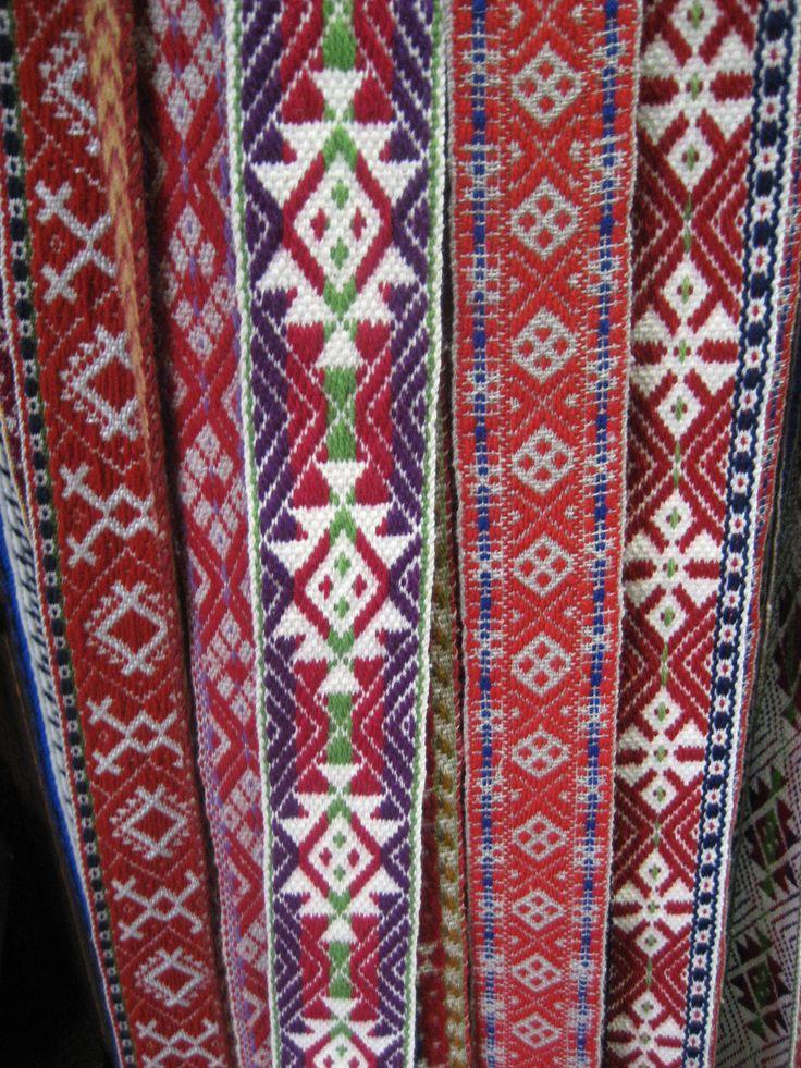 Estonian belts