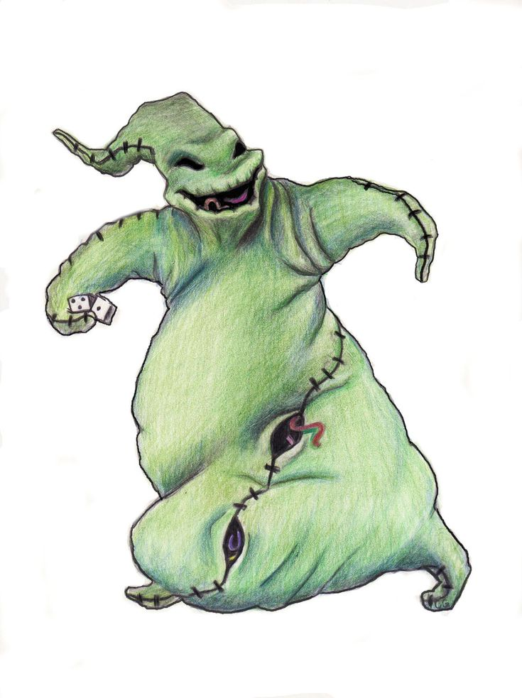 oogie boogie drawing | oogie boogie by pennyhorrible fan art traditional art drawings movies ...
