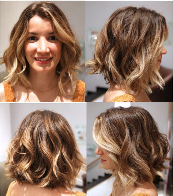 Annabelle's wavy bob by Anh Co Tran | Hair with a passion