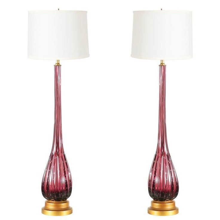 129 best murano glass forever images on pinterest murano glass vintage italian murano glass table lamps aloadofball Image collections