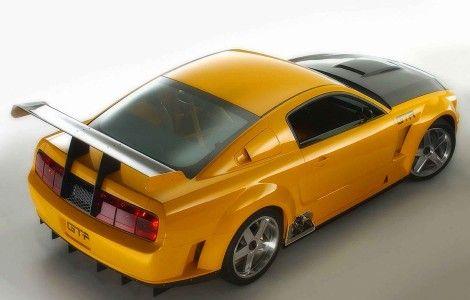 Ford Mustang GTR Rear