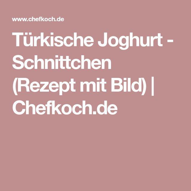 Türkische Joghurt - Schnittchen (Rezept mit Bild) | Chefkoch.de