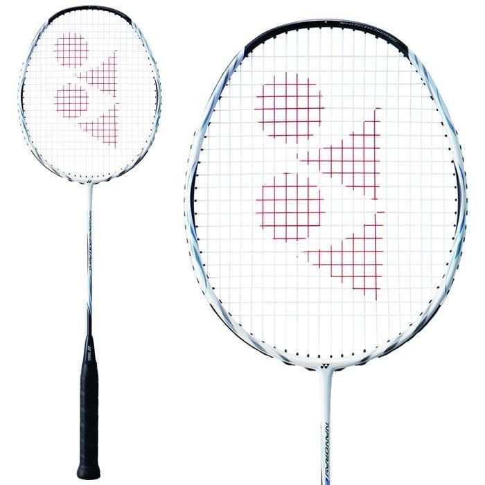 Yonex Nanoray 200 Aero Badminton Racket Black White In 2020 Badminton Racket Badminton Rackets