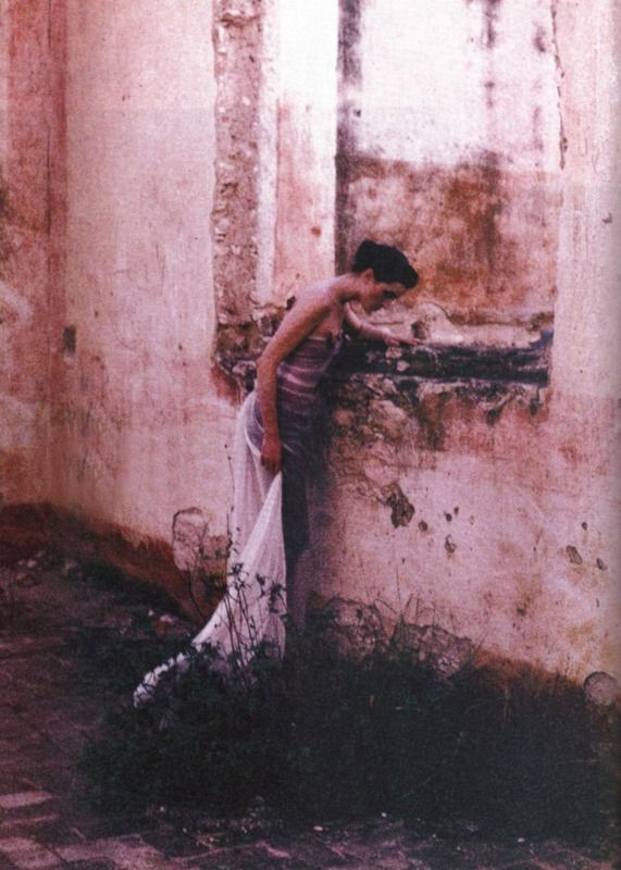 Photographed by Deborah Turbeville for Harper's Bazaar US March 1998