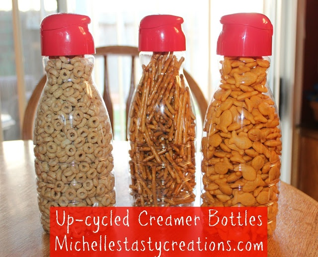Michelle's Tasty Creations: Up-cycled Creamer Bottles