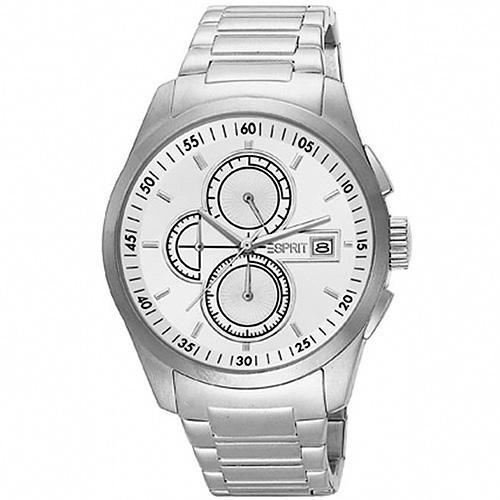 Ρολόι Esprit Circolo Silver Stainless Steel Bracelet - BeMine.gr