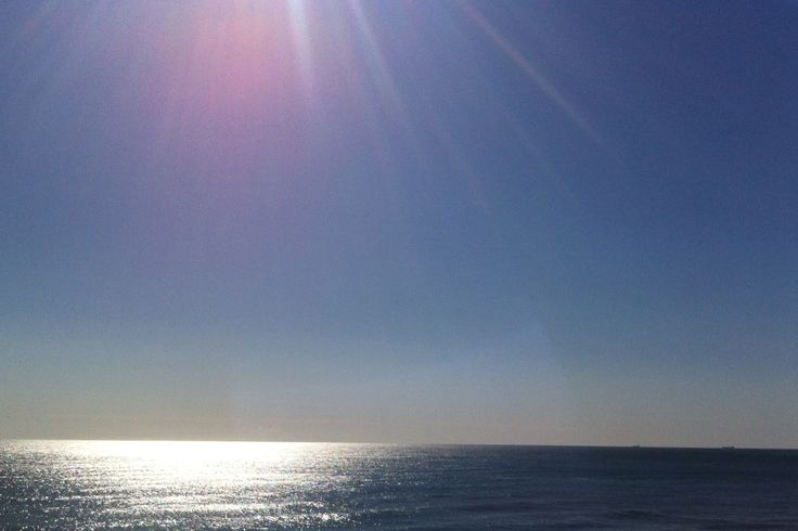 Beach Sun Reflection - Mooloolaba, Queensland, Australia