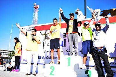 Lorenzo Villeda ganador de la carrera Azul y Oro de la UNAM en Aguascalientes ~ Ags Sports