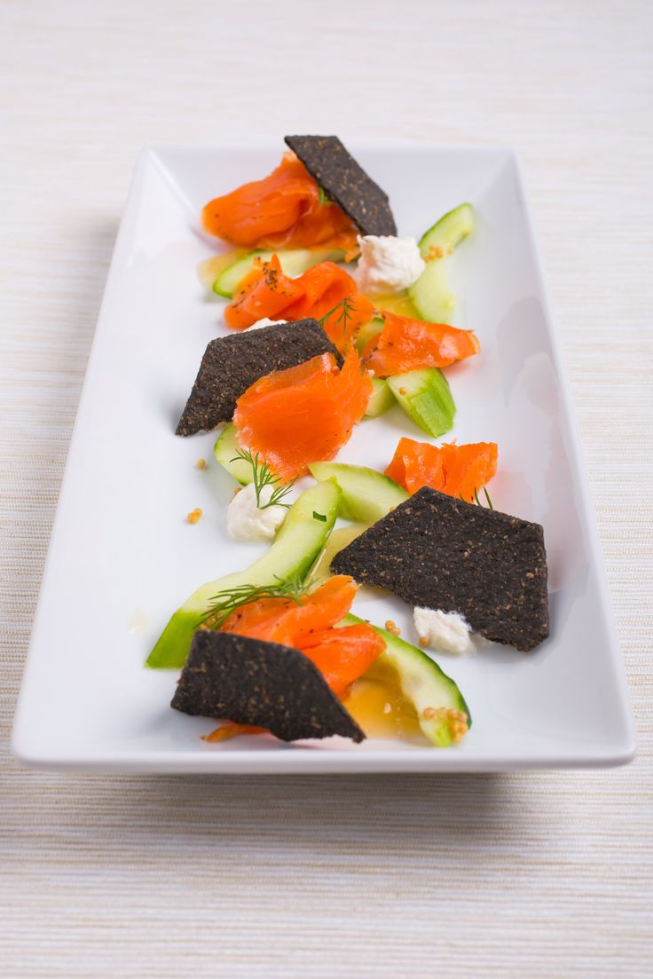 1000 images about smoked trout salmon canape recipes on for Canape edinburgh